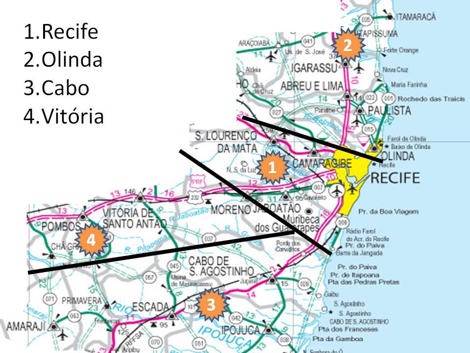 Crisma Casa Forte Arquidiocese De Olinda E Recife Cria Vicariatos - Cabo de santo agostinho map