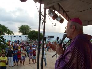 Missa no Presídio Aníbal Bruno