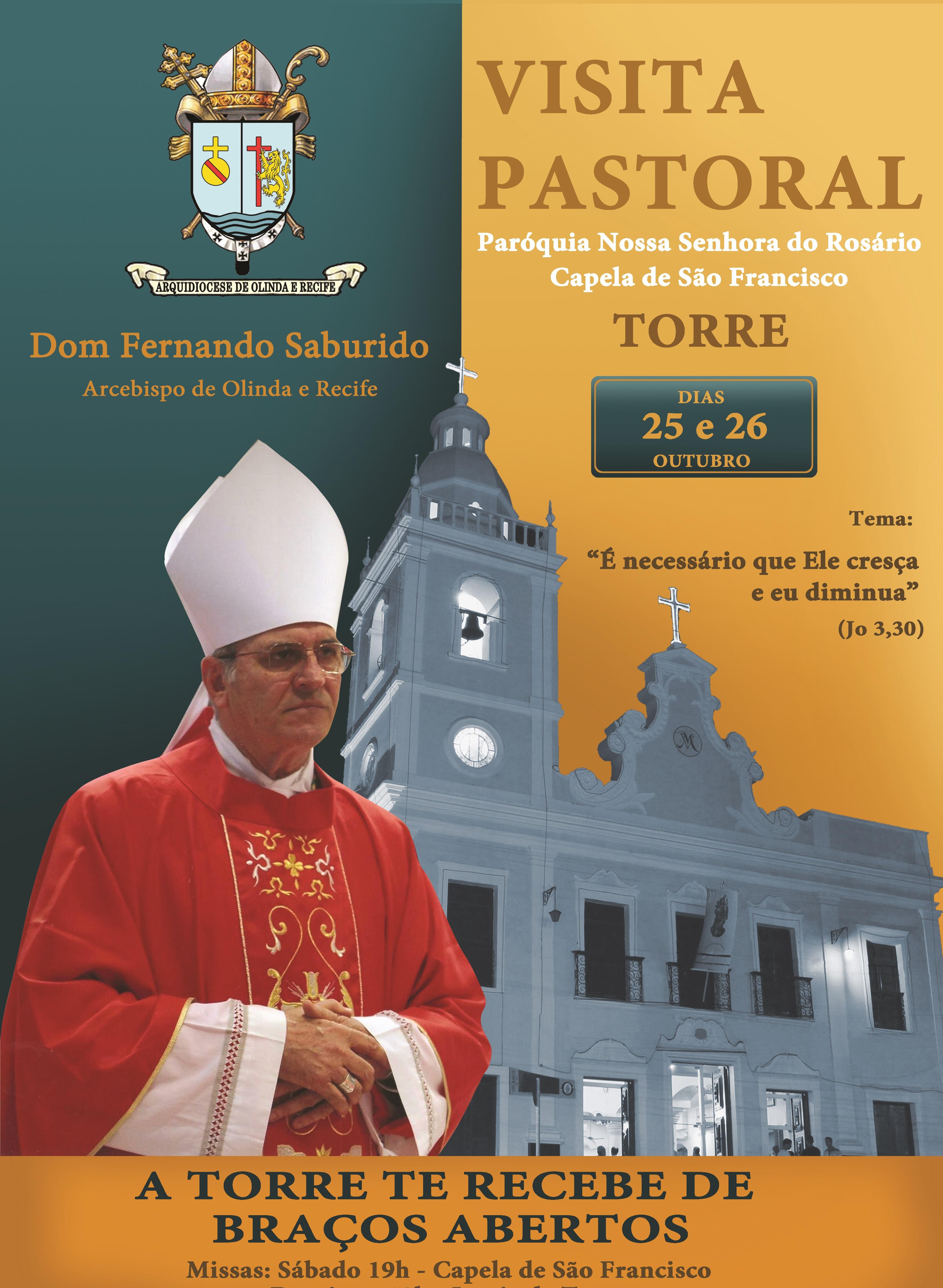 Paróquia da Torre recebe a última Visita Pastoral do ano