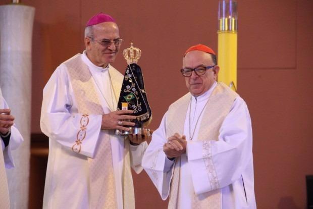 2. Arcebispo convida a todos para o início da peregrinação da Imagem de Nossa Senhora Aparecida nas paróquias