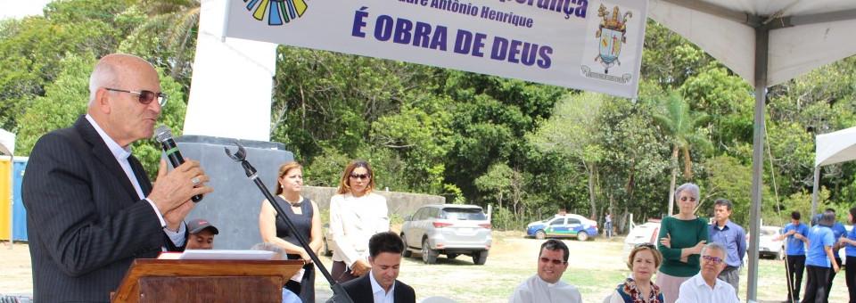 Doadores e parceiros visitaram canteiro de obras da Fazenda da Esperança em Jaboatão