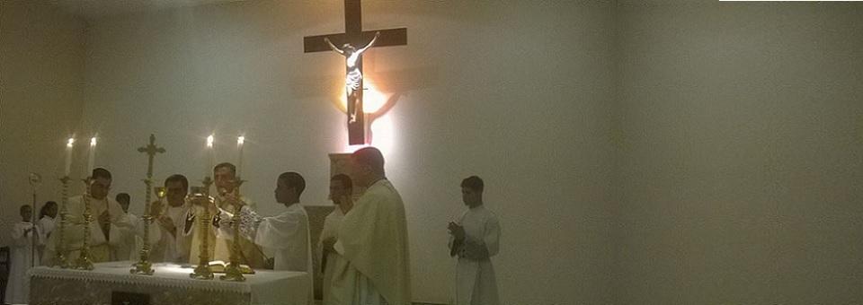 Dom Antônio e Padre Moisés celebram ação de graças por sua vocação
