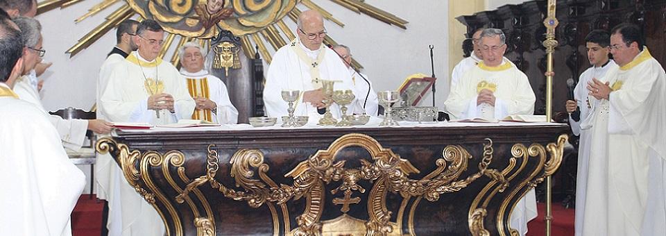 Arquidiocese acolhe jovens vocacionados na Catedral da Sé em Olinda