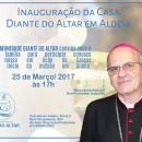 Missa Ação de Graças inaug. casa de missão Comunid. Diante do Altar (25/3)