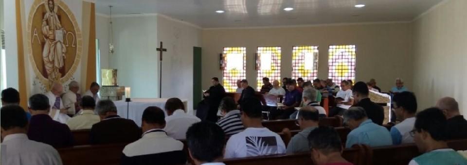 Terceira turma do Retiro do Clero reúne-se em Camocim de São Félix para reflexão quaresmal