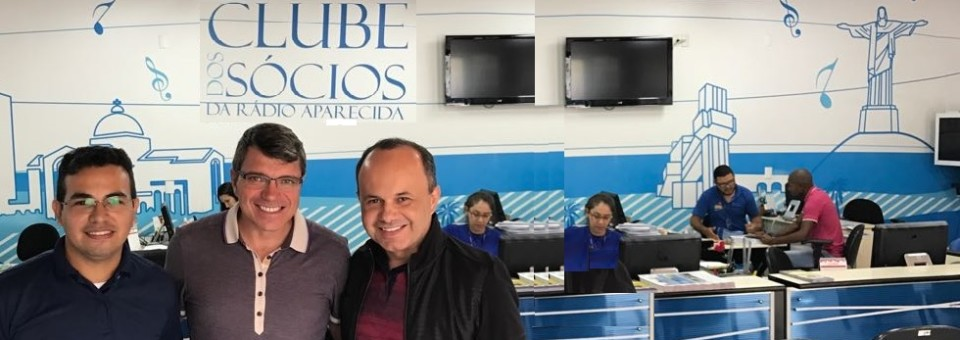 Equipe da Rádio Olinda realiza visita técnica à Rede Aparecida de Comunicação
