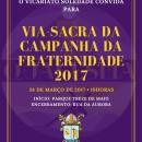 Vicariato Soledade promove Via Sacra da CF 2017 (24/03)