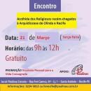 Acolhida aos novos religiosos da Arquidiocese (21/03)
