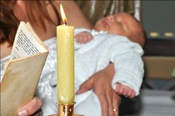 luz batismo