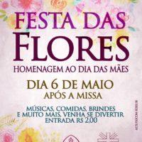 Paróquia de N. Sra. da Conceição/Beberibe promove Festa das Flores (06/05)