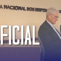 """CNBB divulga nota intitulada """"Pela Ética na Política"""" referindo-se à Constituição Federal"""