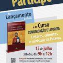 Lançamento livro Leitores, salmistas e ministros da Palavra (15/07)