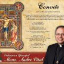 Arquidiocese convida para ordenação episcopal de mons. André Vital (08/07)