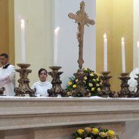 Dom Fernando celebra dedicação e bênção do altar e da igreja do Rosário em Jaboatão dos Guararapes