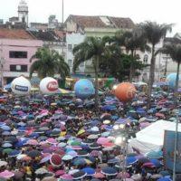 Encerramento da 321ª festa de Nossa Senhora do Carmo reúne milhares de devotos no Recife