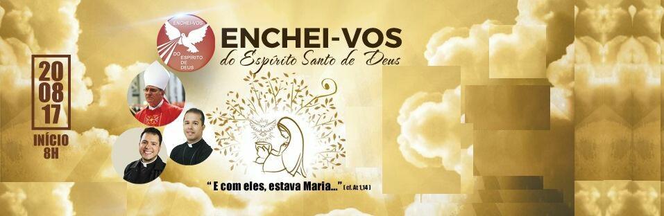 Renovação Carismática Católica arquidiocesana convida para o 30º Enchei-vos