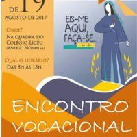 Cmovic convida para encontro vocacional arquidiocesano (19/08)