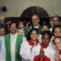 Fiéis da paróquia São José Operário acolhem comitiva arquidiocesana na visita pastoral