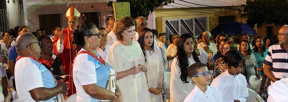 Arcebispo celebra festa de São Miguel Arcanjo na centenária paróquia de Ipojuca