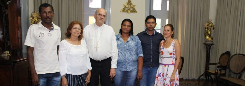 Moradores do Quilombo das Mercês denunciam ao arcebispo violações de direitos humanos no entorno do Complexo de Suape
