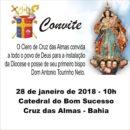 Posse de dom Antônio Tourinho bispo diocese Cruz das Almas (BA) 28/01