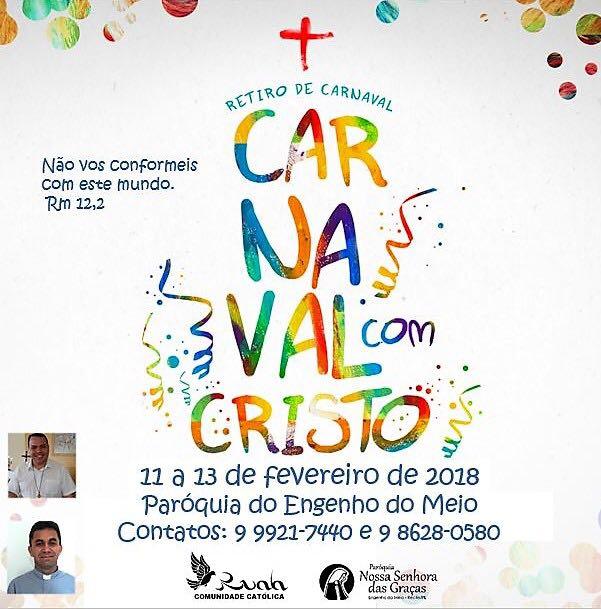Retiros Católicos De Carnaval 2018