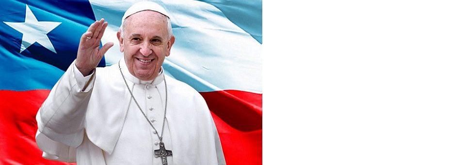 """Papa aponta desafio """"apaixonante"""" aos chilenos: inclusão"""
