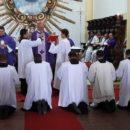 Cinco seminaristas iniciam estágio pastoral na Arquidiocese e dois seguem para o Amazonas